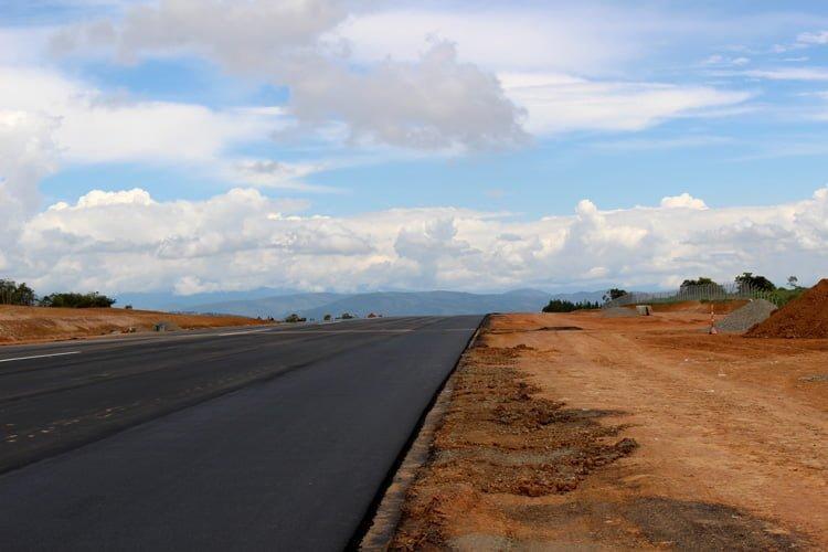 Pista del Aeropuerto Los Pozos de San Gil, Santander.
