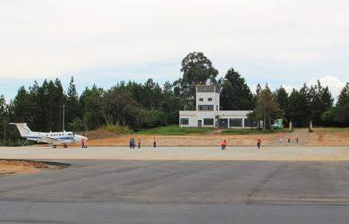 Plataforma del Aeropuerto Los Pozos de San Gil, Santander.
