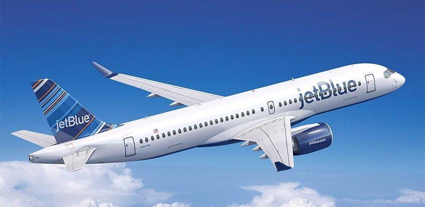 JetBlue se convirtió en el primer cliente del A220-300 de Airbus.