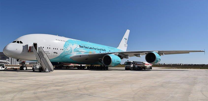 Primer Airbus A380 de Hi Fly.