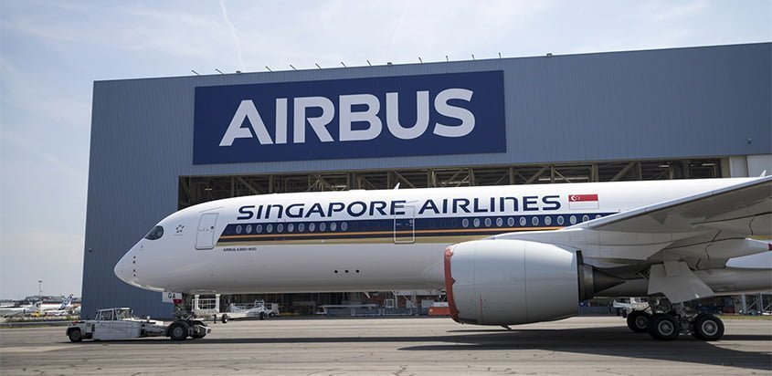 Airbus A350ULR de Singapore Airlines.