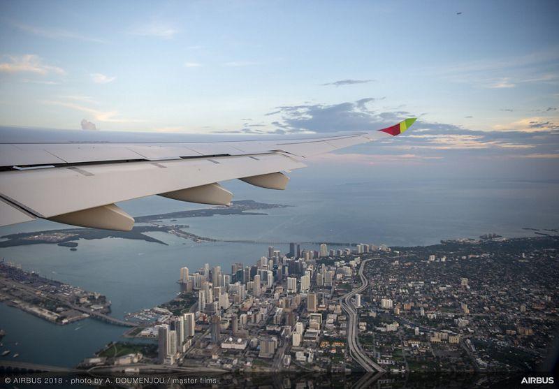 Tour del Airbus A330neo.