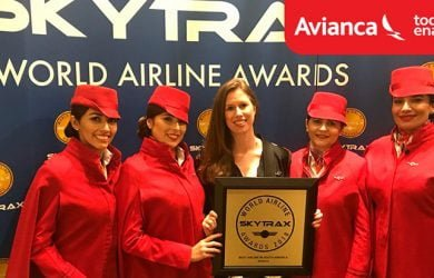 Avianca: Mejor Aerolínea de Suramérica según Skytrax.