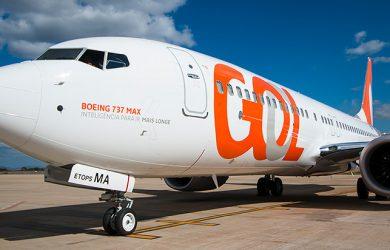 Boeing 737 MAX 8 de GOL.