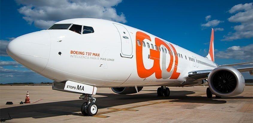 Boeing 737 MAX de GOL.