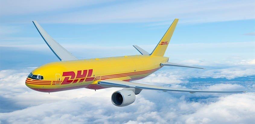 Boeing 777F de DHL.