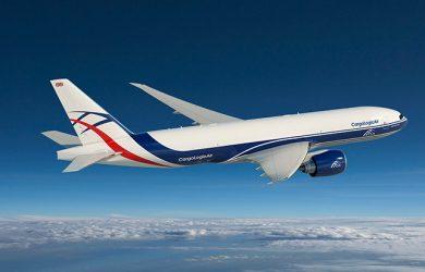 Boeing 777F de CargoLogic.