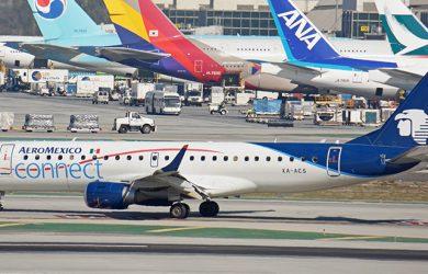 Embraer E190 de Aeroméxico.
