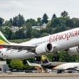Boeing 737 MAX-8 de Ethiopian Airlines.