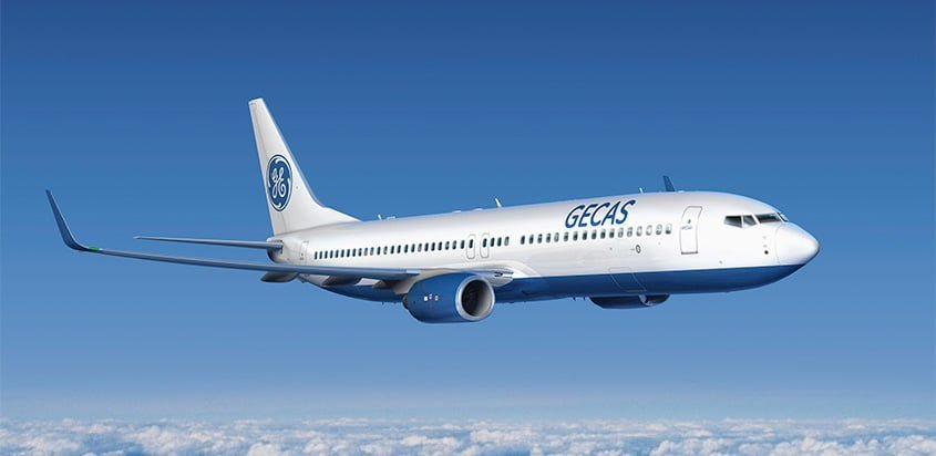 Boeing 737-800BCF de GECAS.
