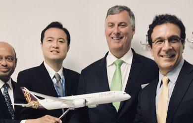 Vistara firma orden para compra por 10 Boeing 787-9.