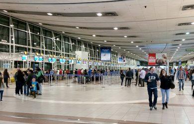 Aeropuerto Internacional Comodoro Arturo Merino Benítez de Santiago de Chile.
