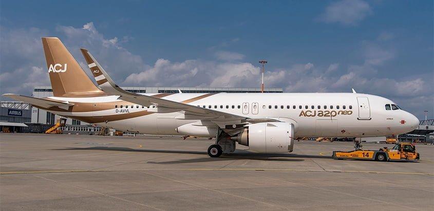 Primer Airbus ACJ320neo de Acropolis Aviation.
