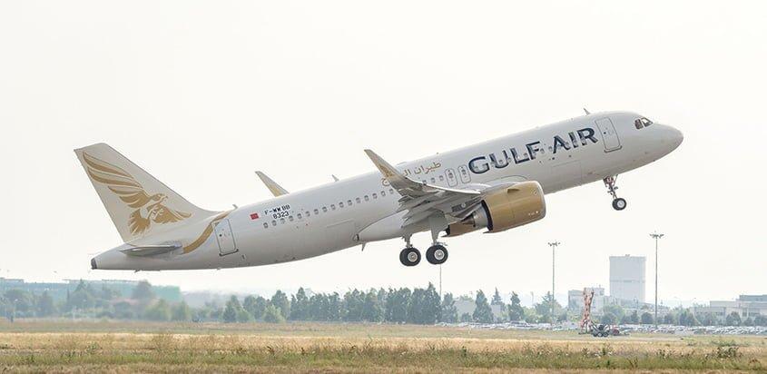 Primer Airbus A320neo de Gulf Air.