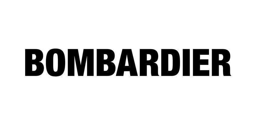 Logo de Bombardier.