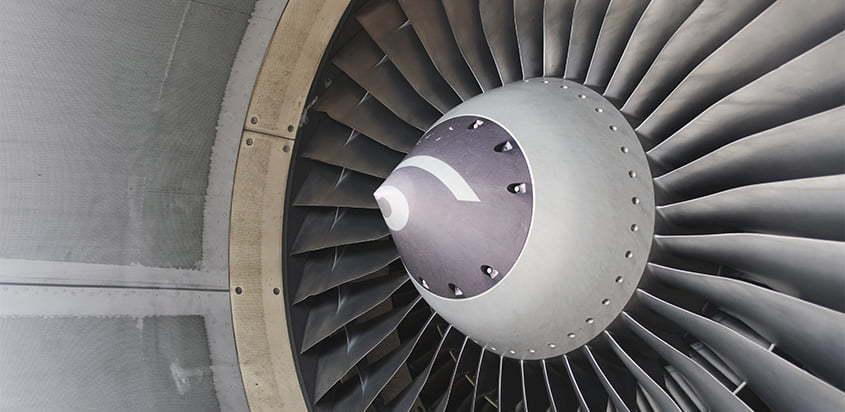 Motor CFM56 de un Airbus A320.
