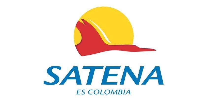Logo de SATENA.