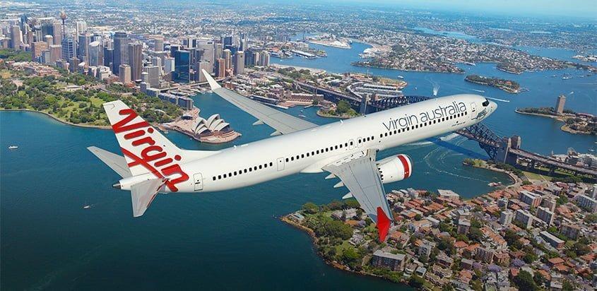 Boeing 737 MAX-10 de Virgin Australia.