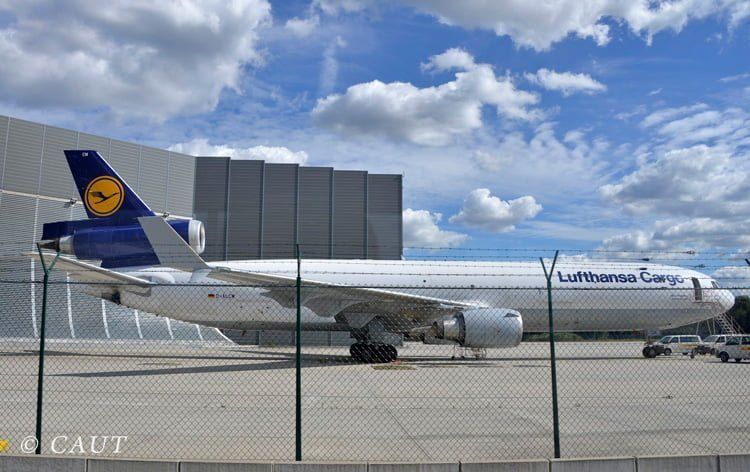 McDonnell Douglad MD-11F de Lufthansa en Frankfurt.