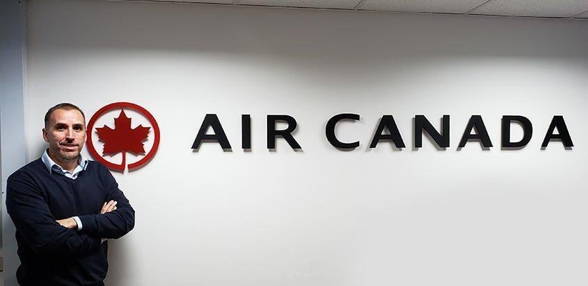 Juan Manuel Calvo, Director de Ventas de Air Canada para Colombia.