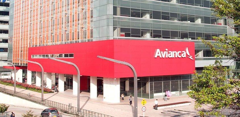 Edificio de Avianca en Bogotá.