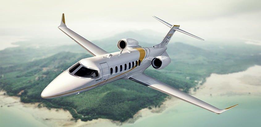 Bombardier Learjet 75.