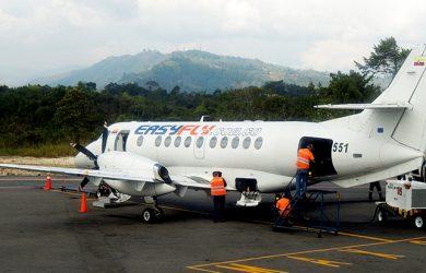 BAe Jetstream 41 de EasyFly en Bucaramanga.