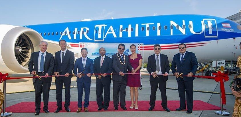 Entrega del primer Boeing 787-9 para Air Tahiti Nui.
