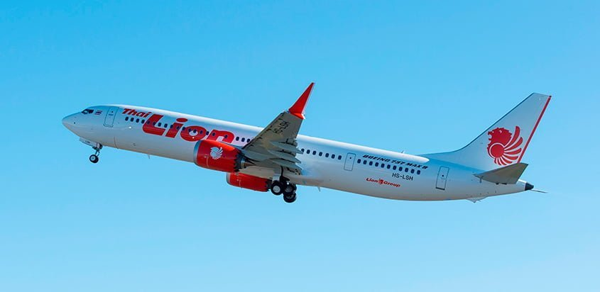 Boeing 737 MAX 9  de Lion Air.