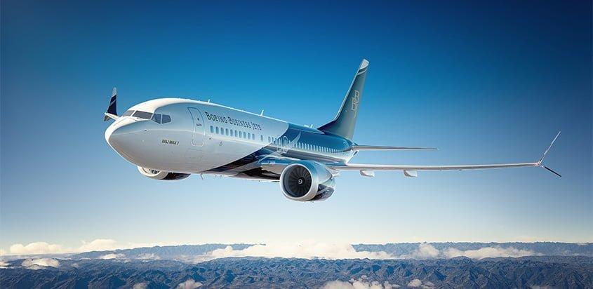 Primer Boeing Business Jet MAX.