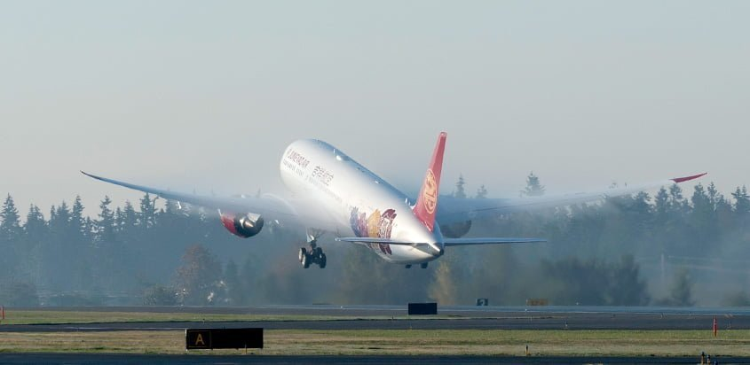 Primer Boeing 787-9 para Juneyao Airlines.
