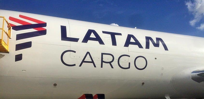 Logo de LATAM Cargo en un Boeing 767-300.
