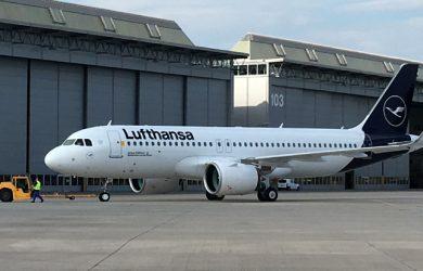 Airbus A320neo de Lufthansa.