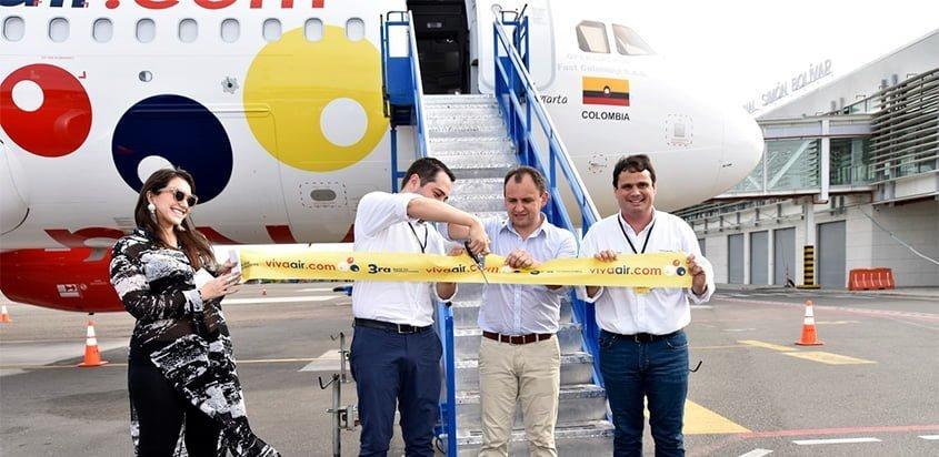 "Airbus A320 HK-5277 ""Santa Marta"" de Viva Air."