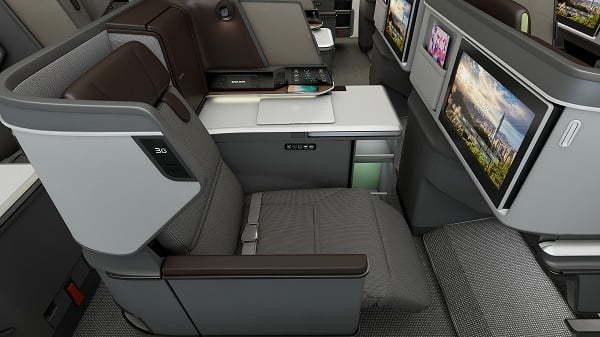 Royal Laurel Class de un Boeing 787-9 de Eva Air.