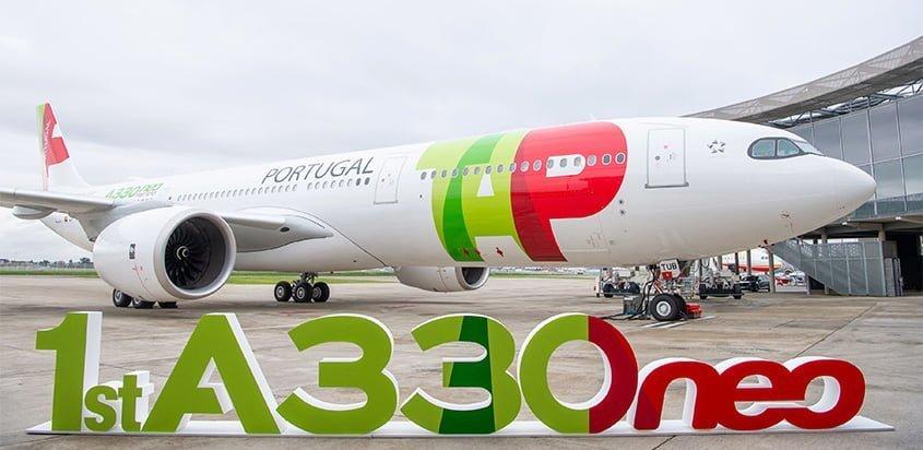 Airbus A330neo de TAP.