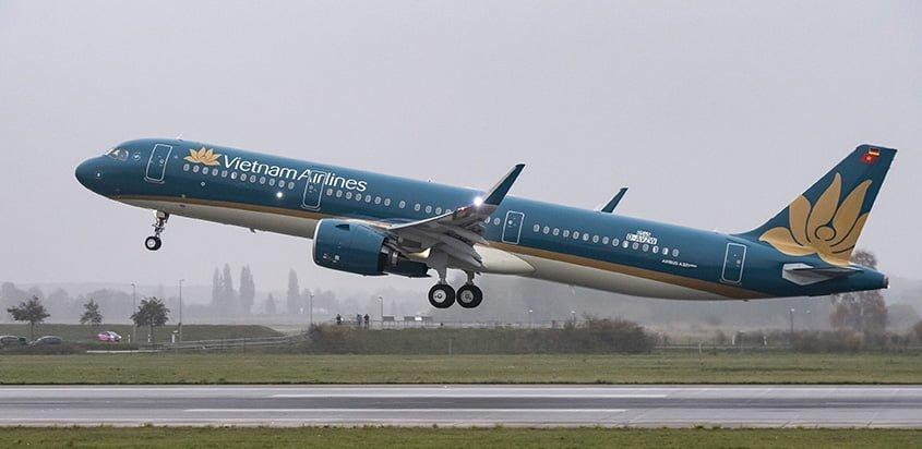 Primer Airbus A321neo de Vietnam Airlines.
