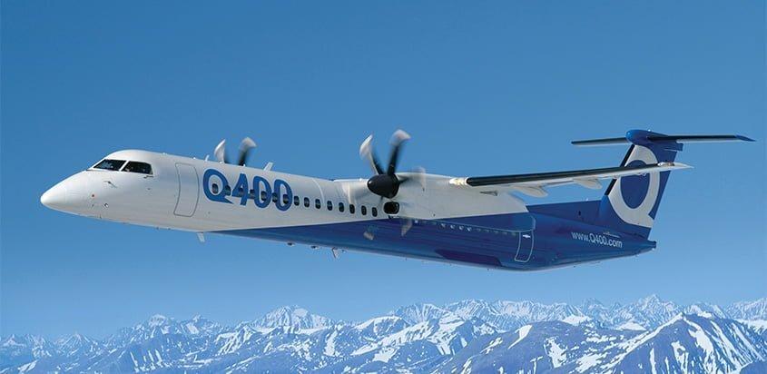 Bombardier Q400.