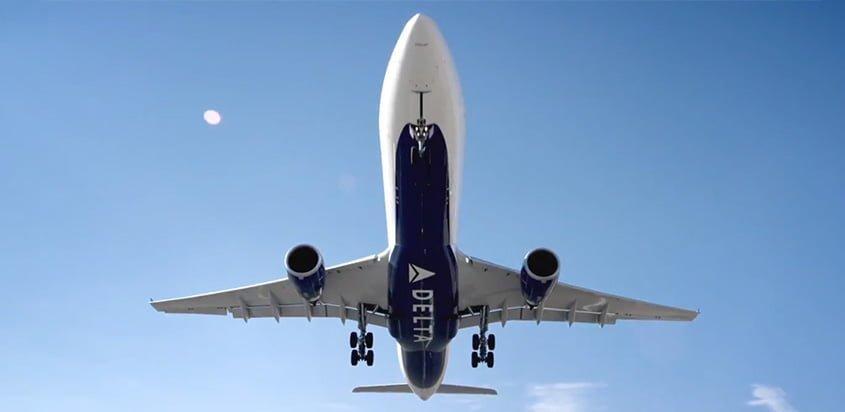 Airbus de Delta Air Lines.