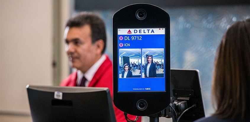 Terminal F de Atlanta, primera Terminal biométrica de Estados Unidos.