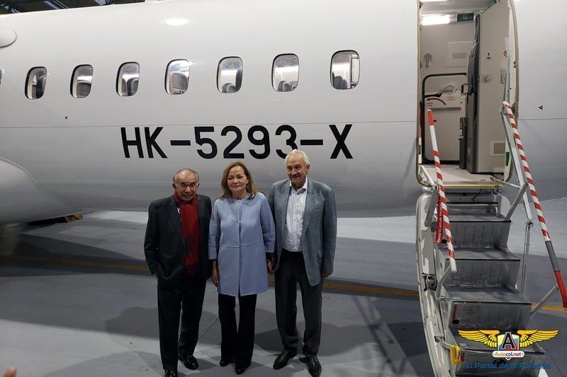 Bienvenida al primer ATR 72-600 de EasyFly.