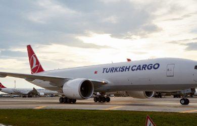 Boeing 777F de Turkish Cargo.