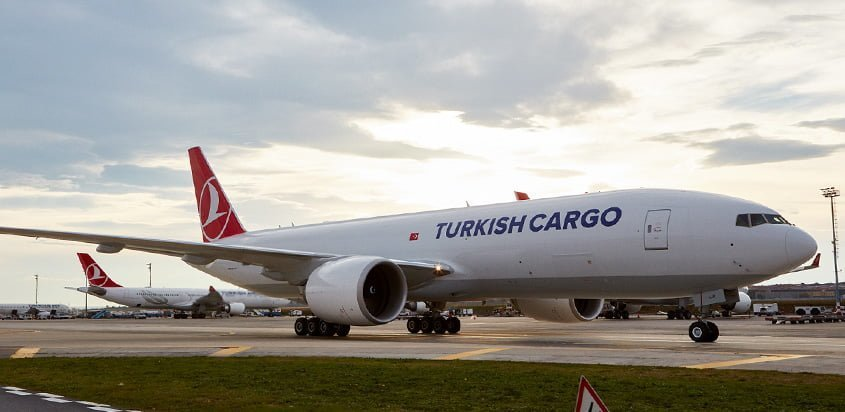 Boeing 777F de Turkish Cargo.