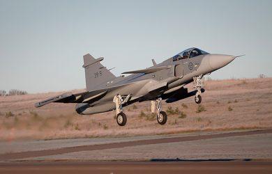 Segundo Saab Gripen E vuela por primera vez.