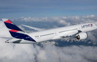 Boeing 787-9 de LATAM Airlines.