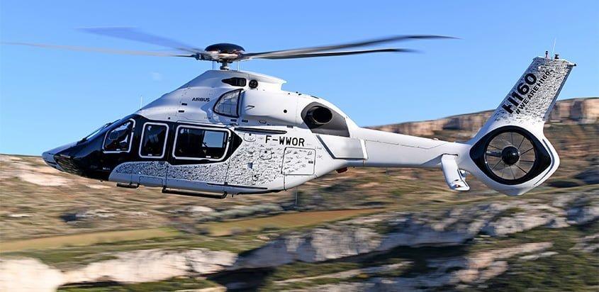 Despegue del primer Airbus Helicopters H160.