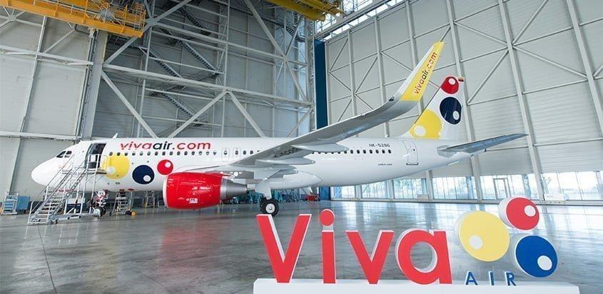 Airbus A320 de Viva Air.