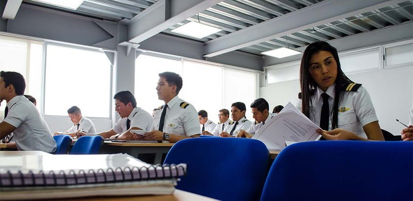 Programa de formación de pilotos de Airbus.