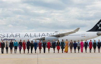Aerolíneas miembro de Star Alliance.