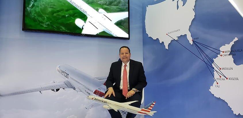Omar Nottaro, Director de American Airlines para Colombia.